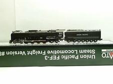Kato Powered DCC Ready Union Pacific FEF-3 Steam Locomotive Freight Version
