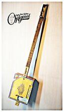 Original Partagas 3TP Cigar Box Guitar vintage. Matteacci