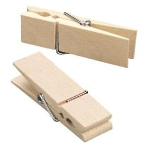 Knorr Prandell Large 70mm x 20mm Wooden Clothes Peg - 1pc #014
