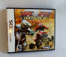 MX VS ATV UNTAMED Game NINTENDO DS/DSi/XL/3D/Lite COMPLETE!