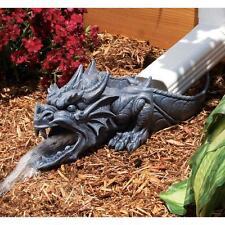 Dragon Sculpture Home Garden Downspout Gutter Guardian Outdoor Decor