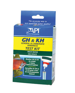 API GH & KH Liquid Test Kit Set Freshwater Aqurium Fish Tank Water Hardness