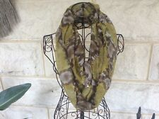 Hestia Infinity Scarf - Lime - Coussinet