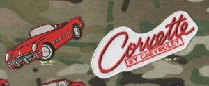 """Heartbeat De Amérique 1953-1962 Chevrolet Corvette C-1 Vette Repasser 3 """" + 4 """""""