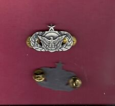 Military Security Police Senior  badge USA Made