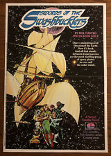 Swords Of The Swashbucklers Promo Poster 1984 Epic Comics Bill Mantlo Nm Guice
