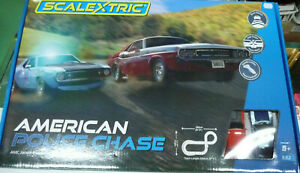 Scalextric C1405M 1:32 American Police Chase Track Set