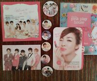 SHINee Etude Official Pamphlets + Pins Onew Key Minho Taemin Jonghyun