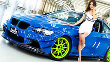"Poster 24"" x 36"" Girl and BMW Tuning"