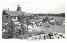 <A5> CANADA Ontario Postcard RPPC '53 SOUTH BAY MOUTH Wah Wah Cottage Ritchies