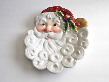 Fitz And Floyd Essentials - 3-D Decorative Santa Dish