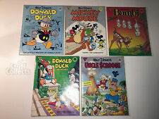 Gladstone Comic Albums #7-11 Bambi Donald Duck Mickey Mouse Uncle Scrooge