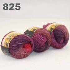 C Sale 3ballsx50g colorful Soft Chunky Hand Knitting Rainbow Wool Shawls Yarn 25