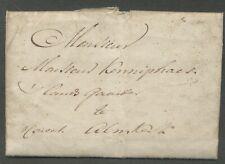 ONFRISSE BRIEF 'S HAGE DEN 17E XBR 1795 (DEC) - ALMKERK 'P COUVERT'  ZH345