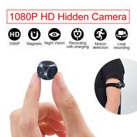 Spy Hidden Camera 1080P Portable Camera Mini Night Vision Motion Camera Cam