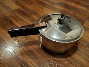 Presto 4 quart stainless steel pressure cooker