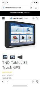 Rand McNally TND Tablet 85 GPS navigation