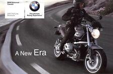 2007 BMW MOTORCYCLE BROCHURE -F650-G650-F800-R1200GS-HP2-R1200RT-K1200LT-K1200GT