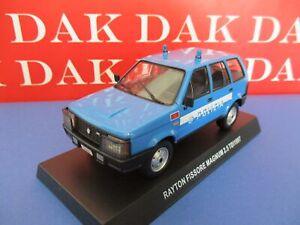 Die cast 1/43 Modellino Auto Polizia Police Rayton Fissore Magnum 2.5 TDI 1997