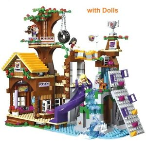 Tree House Building Blocks Friend Adventure Camp Compatible city girl Bricks HOT