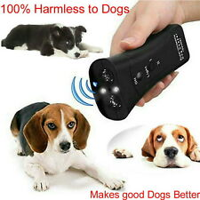 Ultrasonic Anti Barking Pet Dog Repeller Train Control Device Stop Bark Trainer