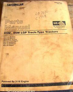 Caterpillar D5M,D5M LGP Track-Type Tractors Parts Manual 3CR1-Up & 6GN1-Up  #810