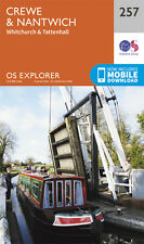 Crewe and Nantwich Explorer Map 257 - OS - Ordnance Survey