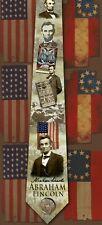 Abraham Lincoln American Civil War Themed men's neck tie