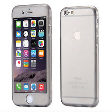 360 Front and Back Full Protective TPU Gel Clear Case Cover For Various iPhone