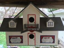 Harley Davidson Birdhouse Hotel/ Hand-crafted Home-made/ Wood 4-entry front/side