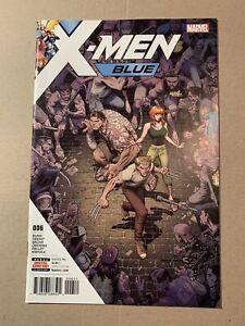 X-MEN BLUE #6 MARVEL COMICS