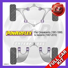Fiat Cinquecento (1991-1998)  Powerflex Complete Bush Kit