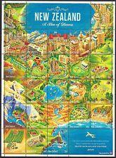 Decimal Sheet New Zealand Stamps
