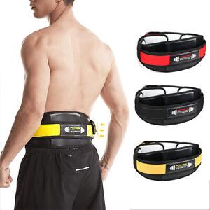 Sport Weightlifting Back Support Gym Fitness Workout Waist Brace Tranning Belt