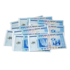 10x Collection Non-Currency Rhinoceros Zimbabwe 100 Quintillion Dollar Banknote