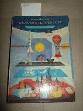Wunderwelt der Luft, H.H.Wille,1970, Wissensspeicher für Kinder, DDR-Kinderbuch