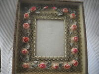 Victorian/ Edwardian Rare Antique Budoir Frame - French Rosettes - FREE Shipping