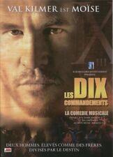 DVD Les dix commandements Comédie musicale Val Kilmer neuf sous cellophane