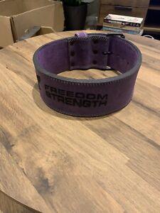Freedom Strength Weight Lifting Belt ~ 27-31 Inch Waist