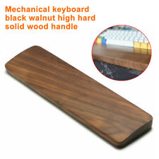 Keyboard Wrist Rest Pad Pain Relief Gaming Walnut Wood Non Slip Comfortable