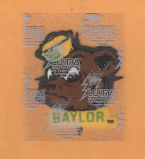 BAYLOR BEARS 3 inch OLD LOGO IRON ON PATCH Unused Unsold Stock
