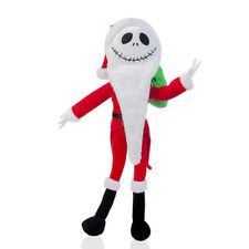"Disney Nightmare Before Christmas Santa Jack Poseable Soft Plush Stuffed Toy 12"""