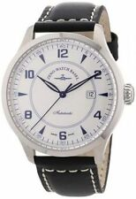 Genuine Leather Band Mechanical (Hand-winding) Wristwatches