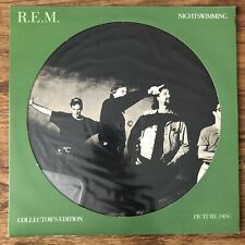 R.E.M Nightswimming 12inch Picture Disc Single Vinyl