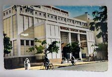 Vtg Postcard BIZERTE TUNISIA LA NOUVELLE SYNAGOGUE G LEVY KASBAH TUNIS Judaica