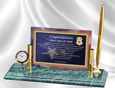 Law Enforcement Graduation Gift Police Academy Sheriff School Graduate Clock Pen
