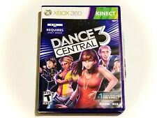 Kinect Dance Central 3 Video Game (Microsoft Xbox 360, 2012) Complete