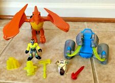 Fisher Price Imaginext Dinosaur Dino Rider With Figure
