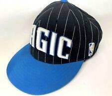 Orlando MAGIC NBA Adidas Vintage Retro Snapback PinStripe Black Cap Hat