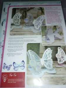 HUNKYDORY BUTTERFLY WINGS EASEL CONCEPT CARD KIT (4)